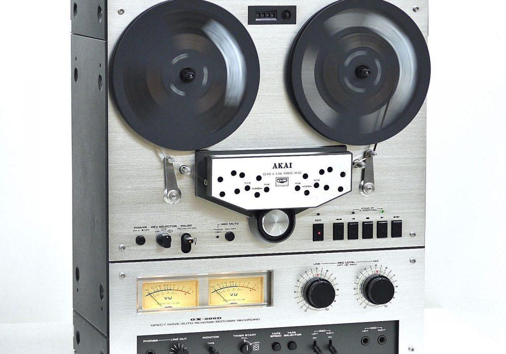 AKAI GX-266D 开盘机