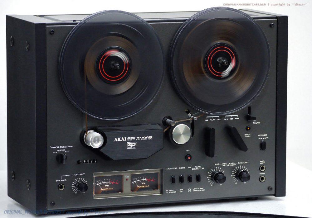 AKAI GX-4000D 开盘机