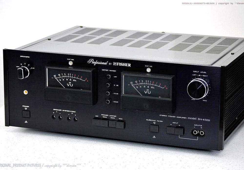FISHER BA-4500 Professional 功率放大器