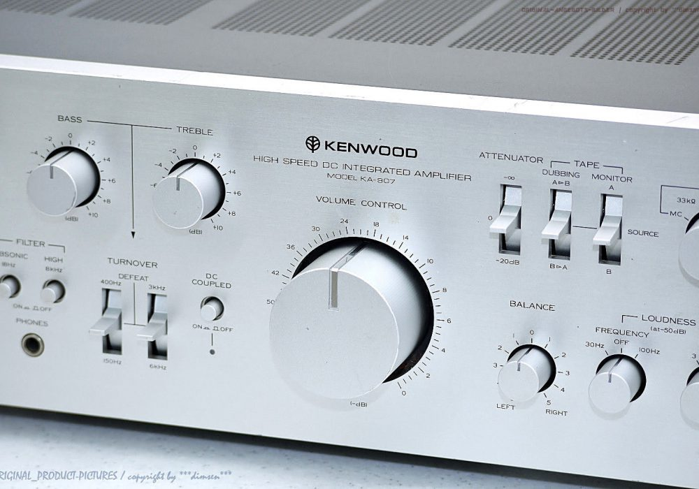KENWOOD KA-907 High-End 功率放大器