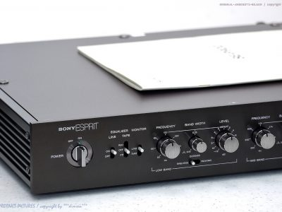 索尼 SONY SE-P900 High-End Acoustic Equalizer 均衡器