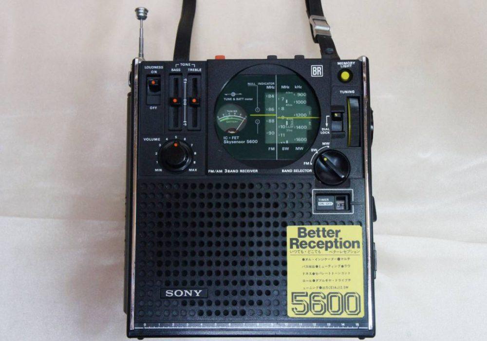 SONY ICF-5600 BCL 收音机