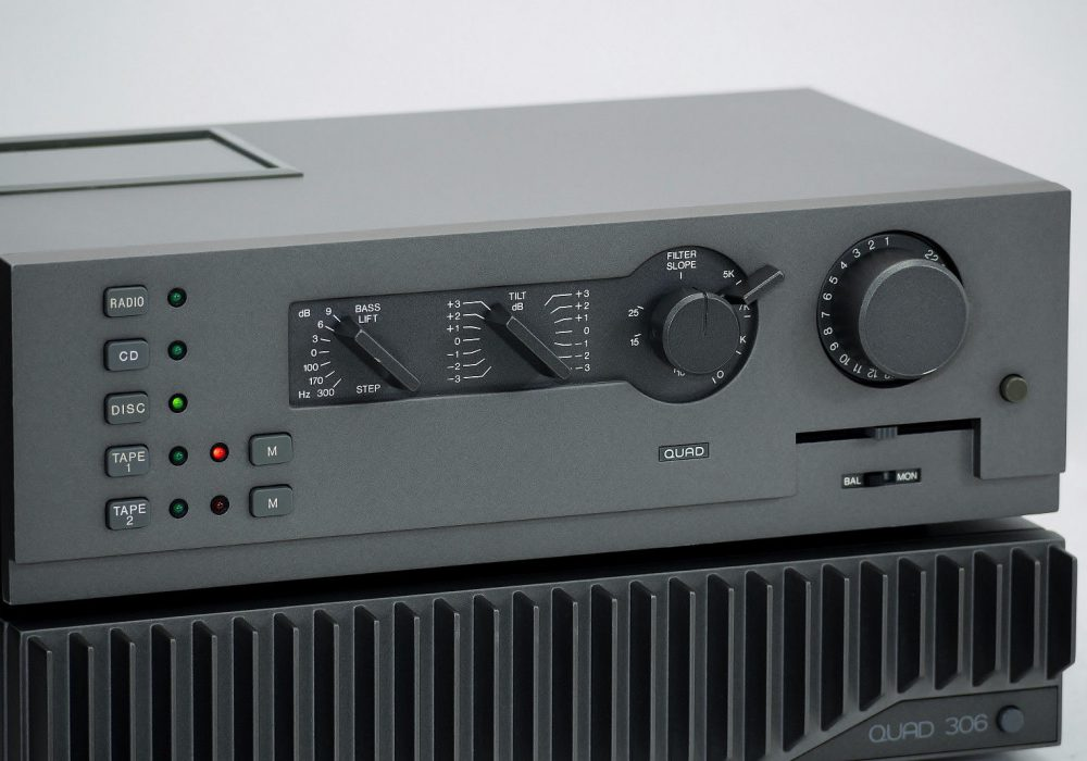 QUAD 44 + 306 GREY Version High-End 功放前后级