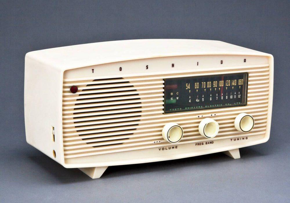 昭和レトロの真空管ラジオ マツダかなりやLS AM/SW 2BAND 五球スーパー 実用中古の希少品!