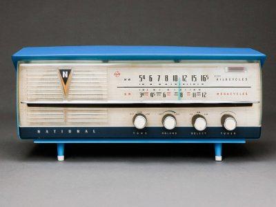 National DX-435 电子管收音机