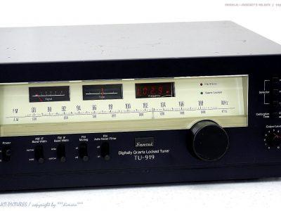 SANSUI TU-919 High-End FM/AM Tuner 收音头