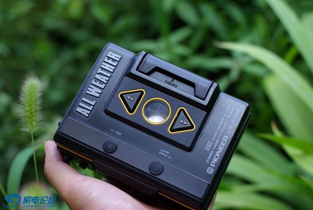 先锋 PIONEER PK-5AW 磁带随身听