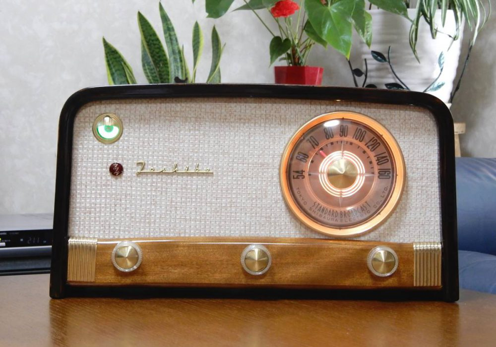 Toshiba 614A型 电子管 收音机