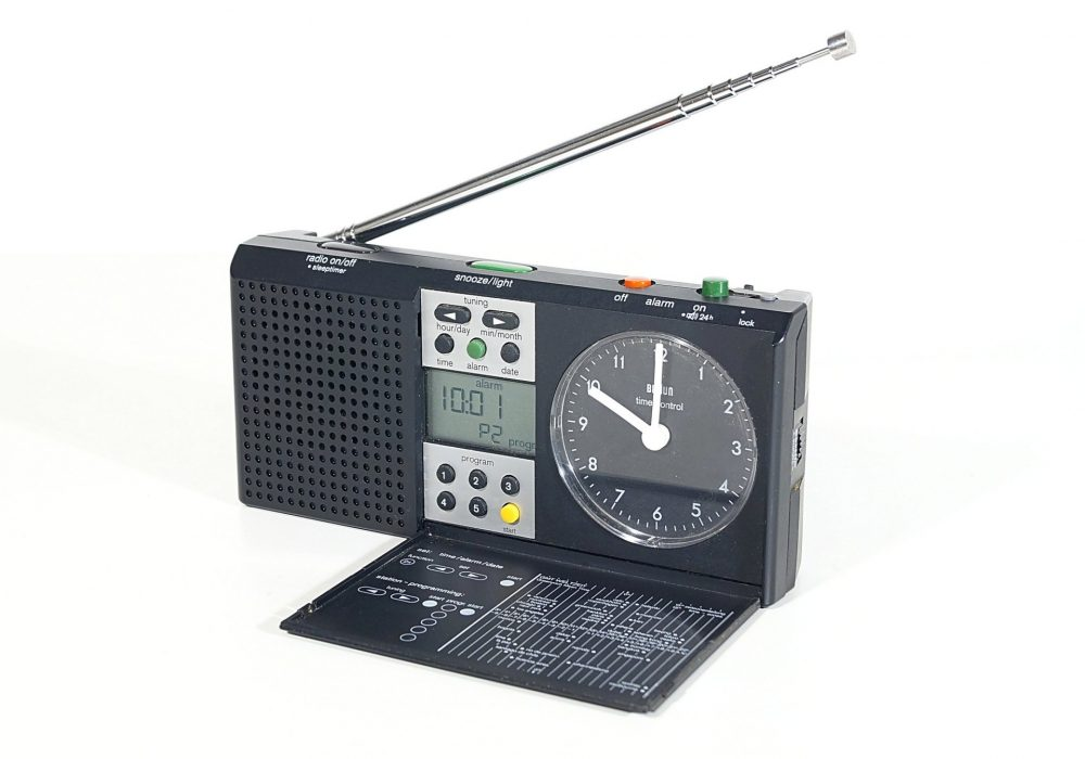 Braun Clock Radio Type 3869 钟控收音机