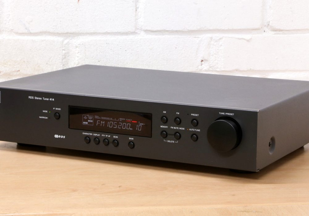 NAD 414 FM/AM Analogue Hi-Fi Tuner 收音头