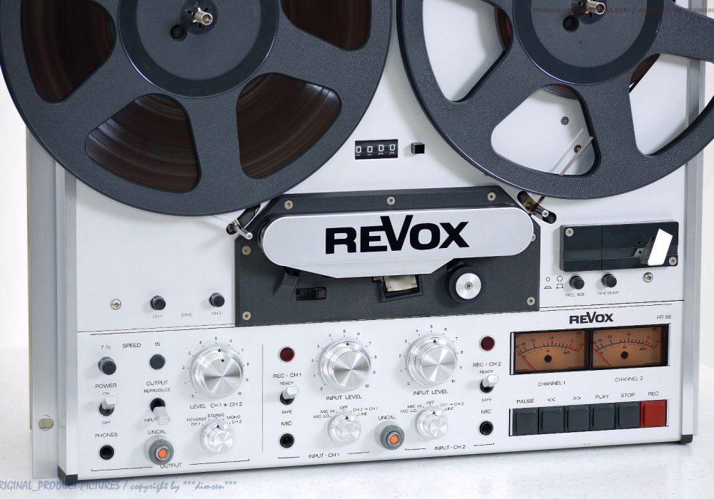 REVOX/STUDER PR99 开盘机