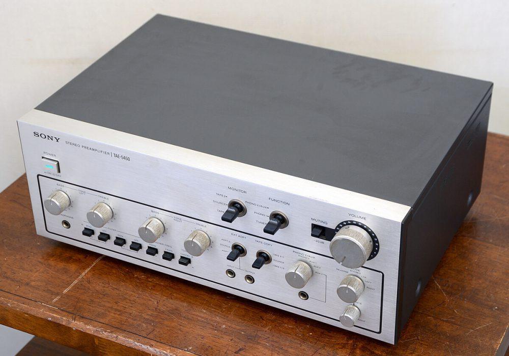 SONY TAE-5450 前级放大器