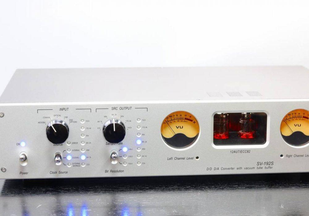 SUNVALLEY SV-192S D/D D/A 电子管解码器