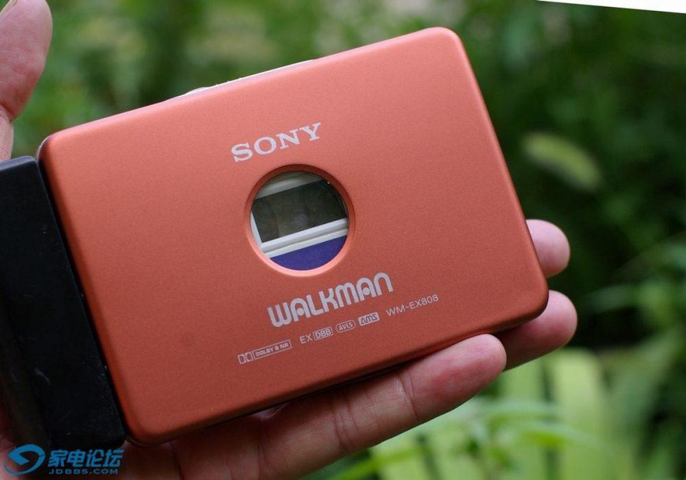 索尼 SONY WM-EX808 磁带随身听