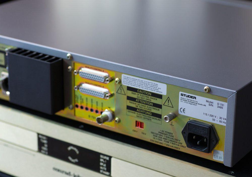 STUDER D731 广播级 CD播放机