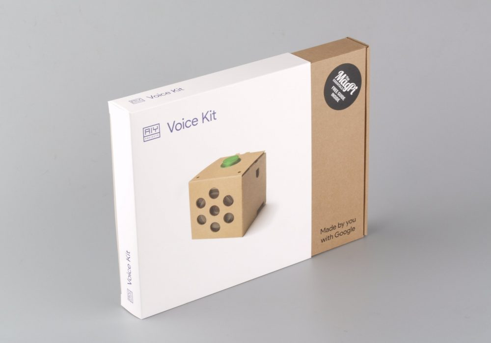 Google 谷歌 AIY Voice Kit智能语音开发套件 - 包装