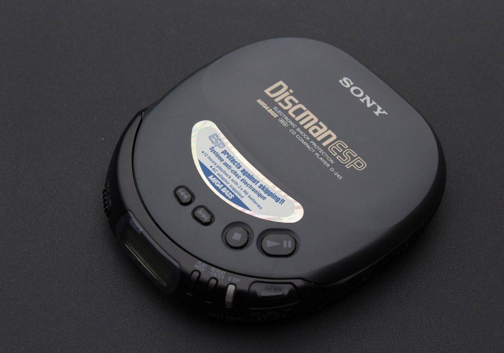 索尼 SONY D-245 Discman CD随身听