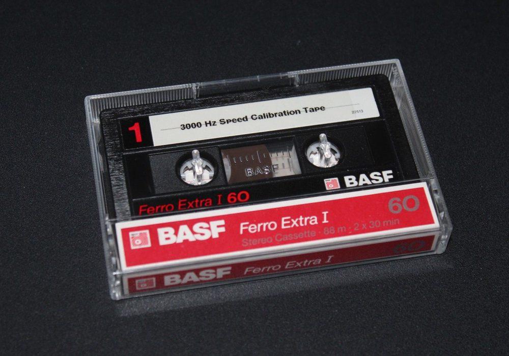 3000Hz (3 kHz) Speed Calibration (BASF)