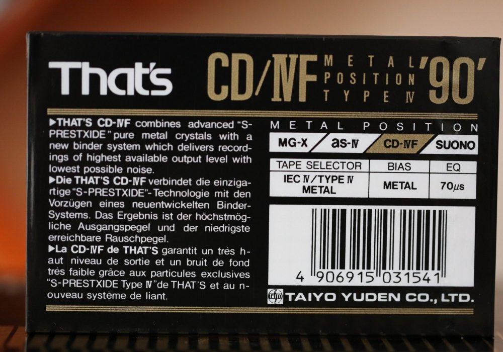 THAT\'S CD/IVF METAL (TYPE IV) 空白录音带