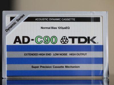 TDK AD-C90 Cassette 1979