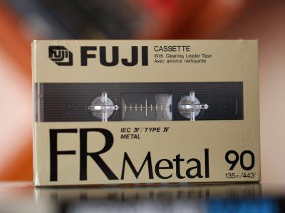 FUJI FR Metal 90 Cassette Type IV