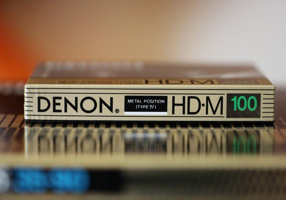 DENON HD-M100 (1988) METAL / TYPE IV CASSETTE