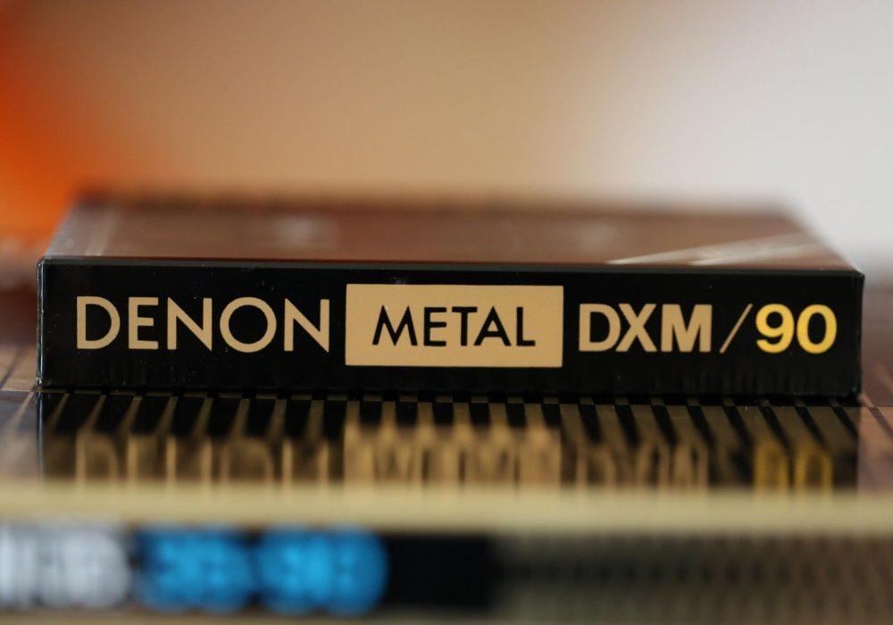 DENON DXM/90 METAL type IV Cassette