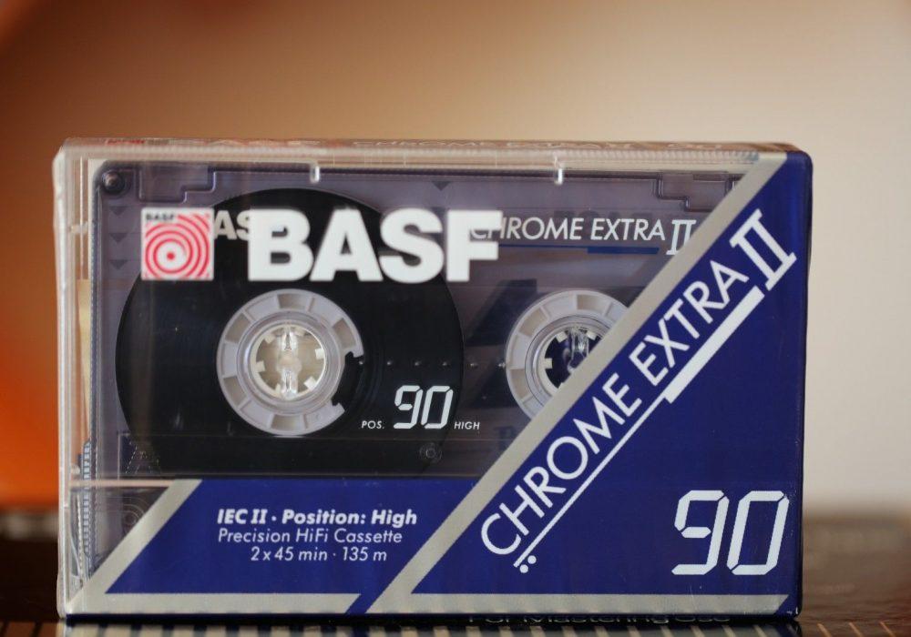 BASF Chrome Extra II 90 audio cassette Type II