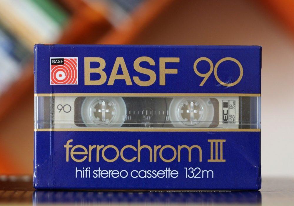 BASF Ferrochrom III (TYPE III) Blank Cassette