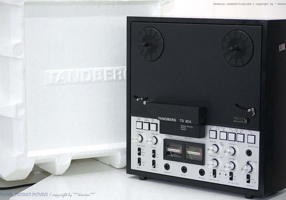 TANDBERG TD 20A 开盘机