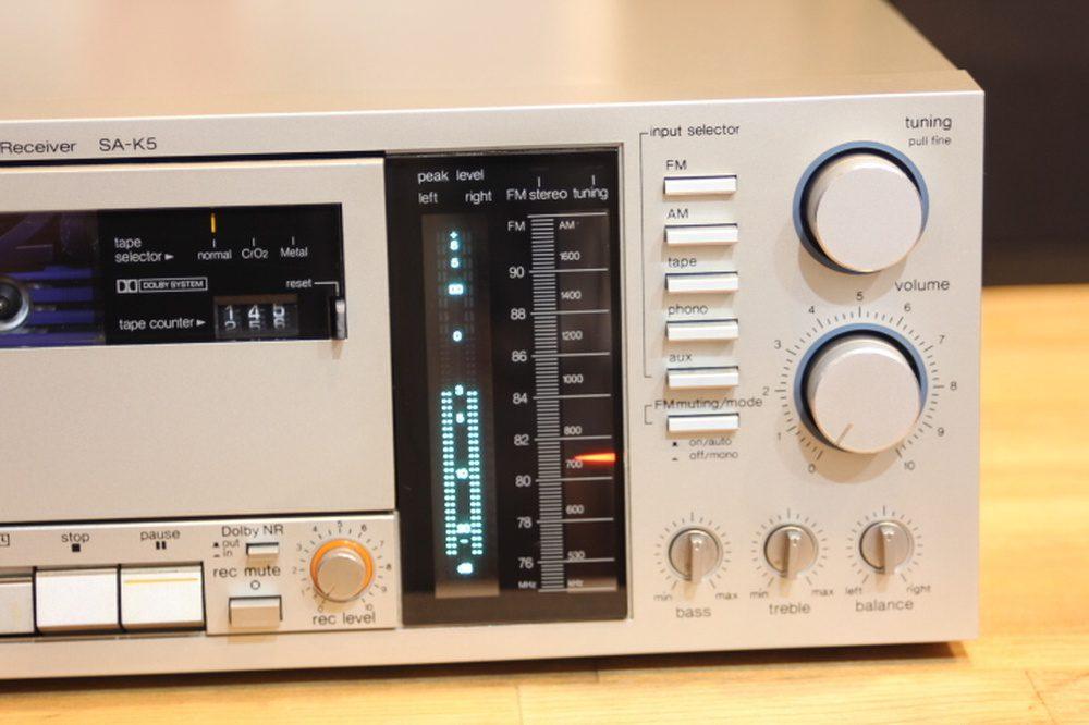 Technics SK-K5 FM/AM 卡座