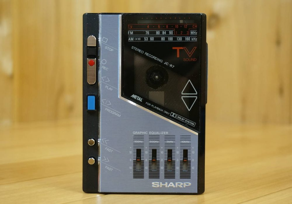 SHARP JC-R7 FM/AM 磁带随身听