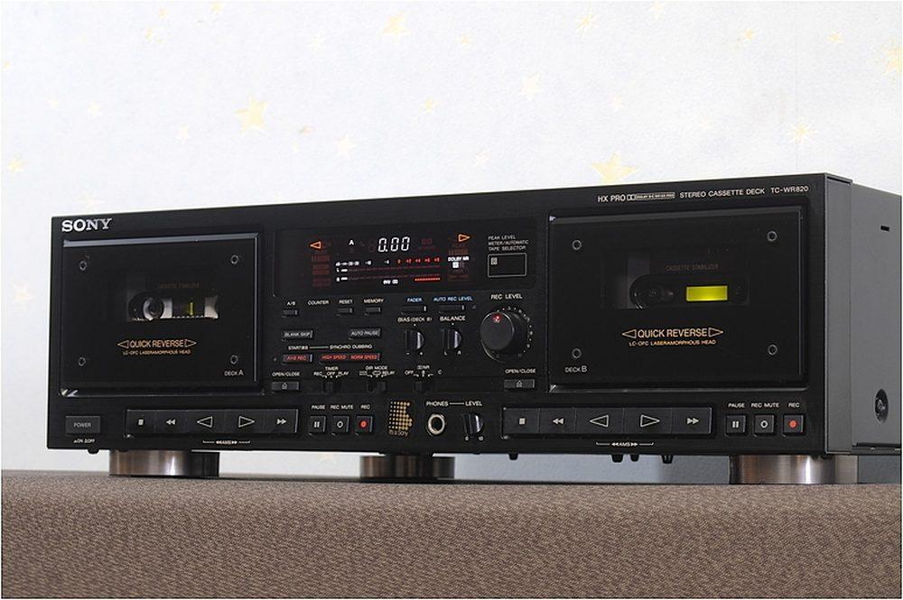 SONY TC-W820 双卡座