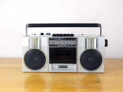Hitachi TRK-6801E Boombox 收录机