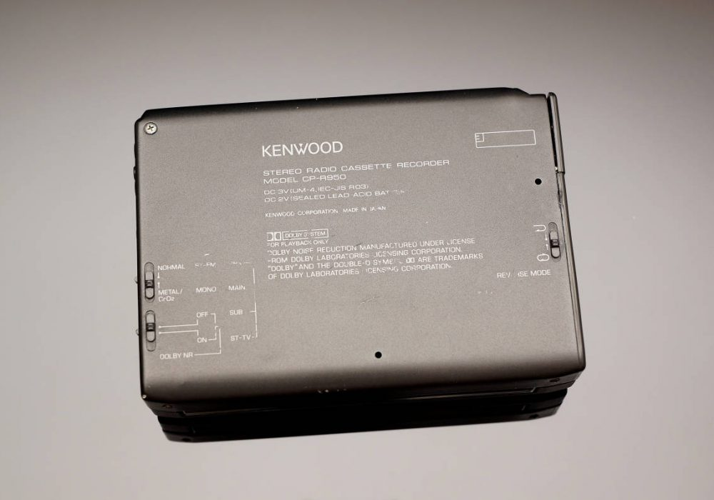 KENWOOD CP-R950 磁带随身听