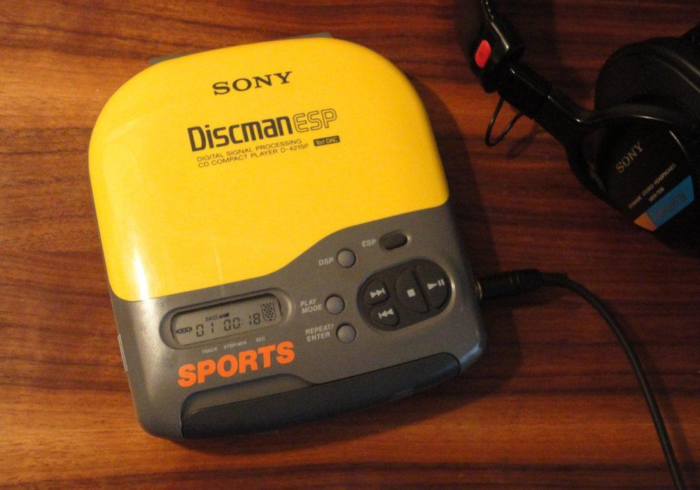 SONY D-421SP DISCMAN CD随身听