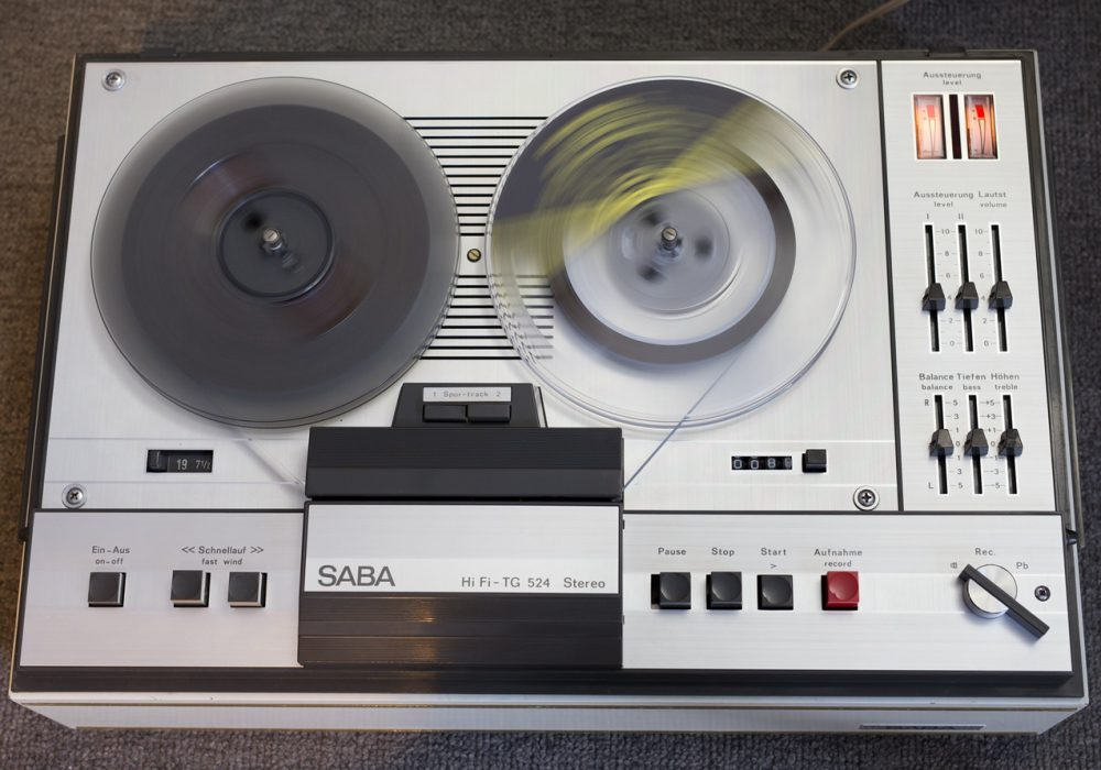 SABA TG524 两轨立体声开盘机
