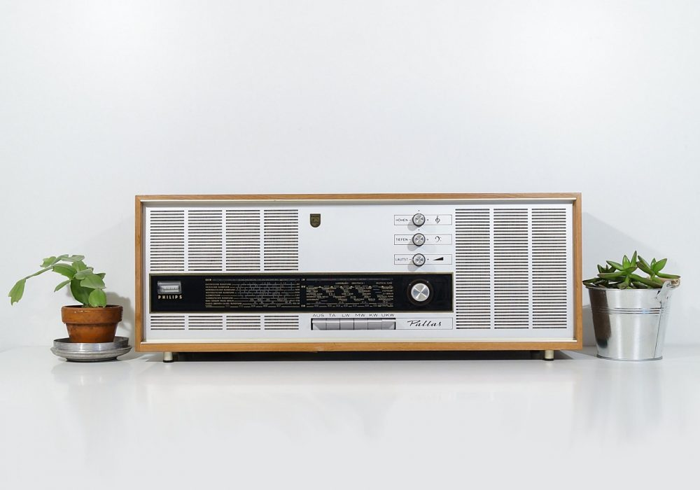 Philips Pallas Transistor Radio 1967 4 Band 收音机