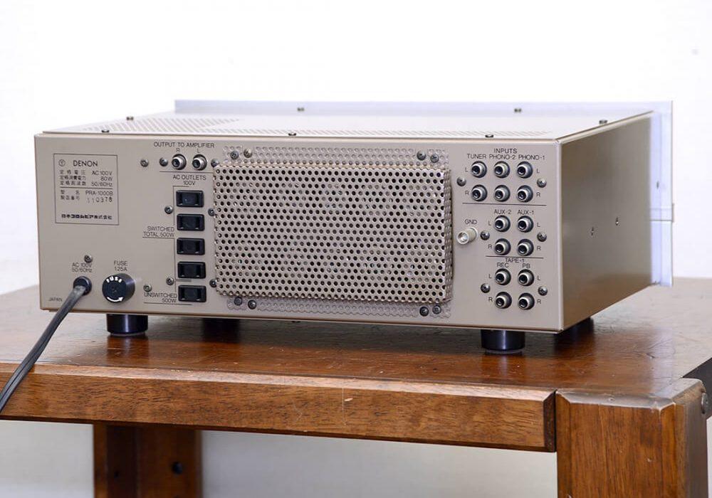 DENON PRA-1000B 电子管 前级放大器
