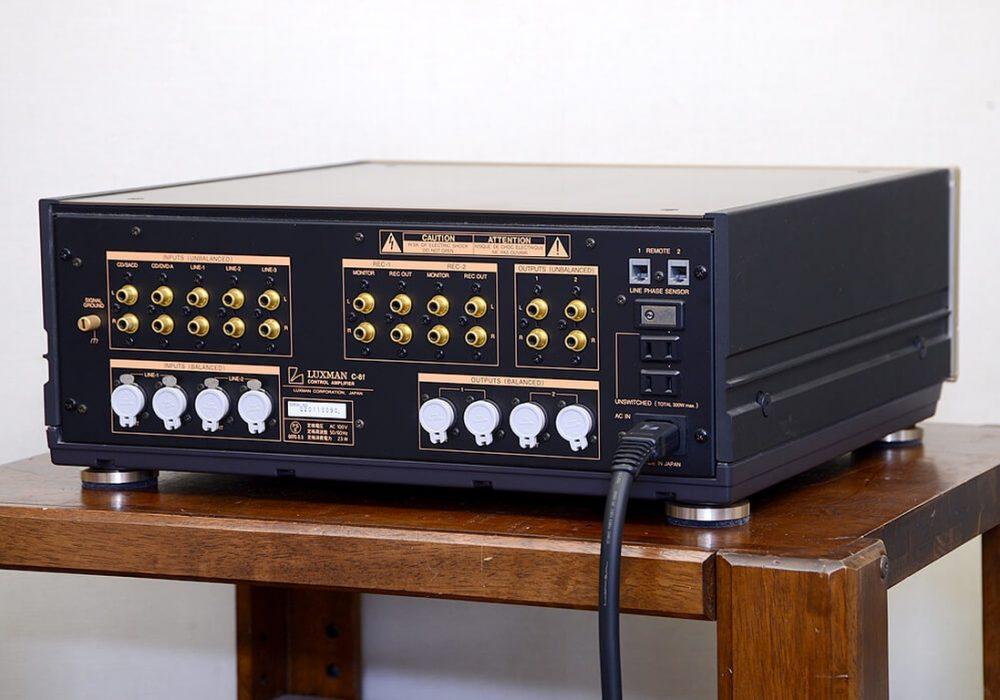 LUXMAN C-8f 前级放大器