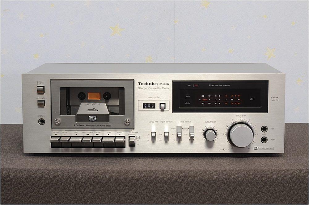 Technics RS-M33G 卡座