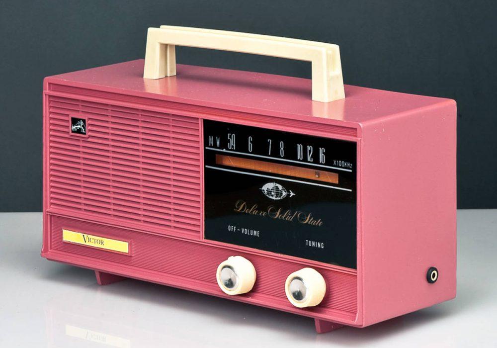 VICTOR MODEL 6H-711V AM 收音机