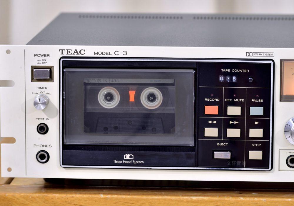 TEAC C-3 卡座