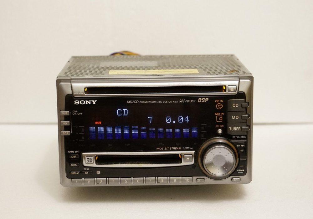 索尼 SONY WX-C900MD 车载CD/MD播放机