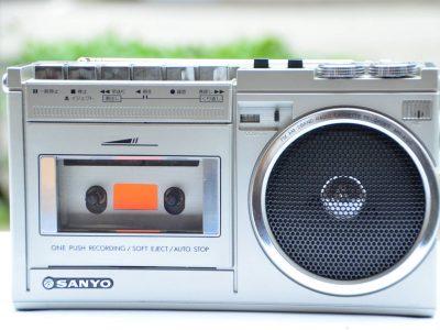 SANYO MR-A120 小收录机 + PL-440 收音机