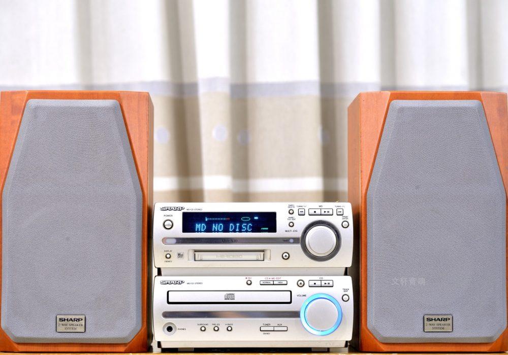 夏普 SHARP MD-X10S 桌面组合音箱