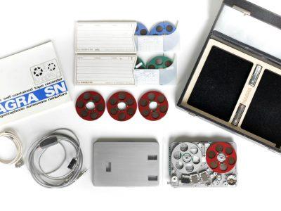 Nagra SNST Reel-to-Reel 微型开盘机