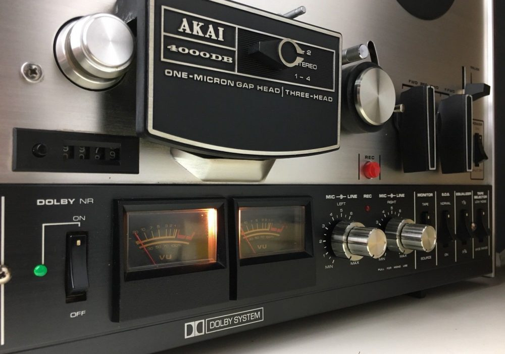 AKAI 4000DB 开盘机