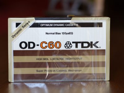 TDK OD-C60 Normal Bias 盒式录音带