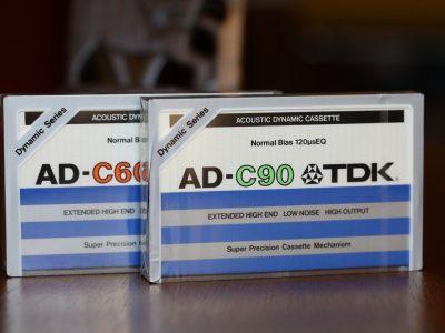 TDK AD-C60 / AD-C90 盒式录音带